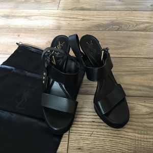 Authentic Yves Saint Laurent Sandals